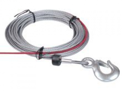 Steel rope W/Hook 5.5mmx15.2m for Cub 4