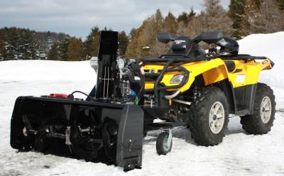 BERCOMAC profesionálna snežná fréza 48