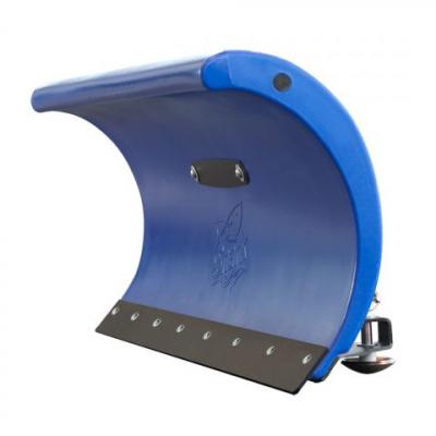 SHARK snehová radlica 132 cm, modrá, bez univerzálneho adaptéra