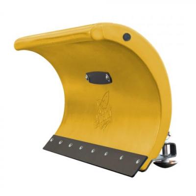 SHARK snehová radlica 152 cm, žltá, bez univerzálneho adaptéra