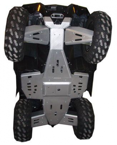 Polaris XP550/850 2009, Skidplate set with floorboard plates