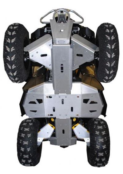 Renegade 800R/1000 2012-2015 Skidplate Set