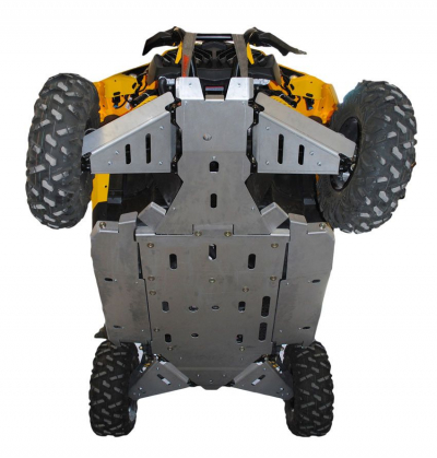 Maverick X-XC 2014-15 Complete Skidplate Sett