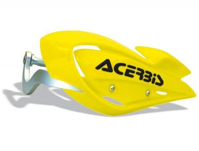 ACERBIS Kryt rúk s výztuhou ATV - žltý