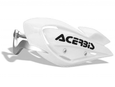ACERBIS Kryt rúk s výztuhou ATV - biely