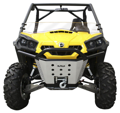 FRONT BUMPER BLACK BR3 - CAN-AM COMMANDER 1000