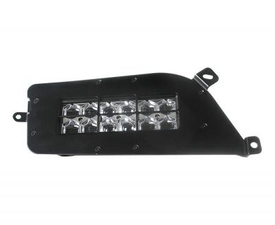SHARK LED Headlights for Polaris ATV, UTV with Backlight, 2pcs