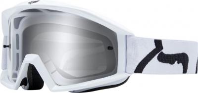 FOX Googles Main Race -NS, White MX19
