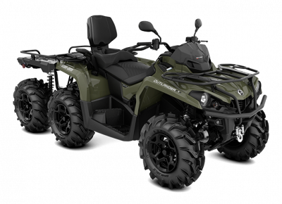 Štvorkolka Can-am OUTLANDER MAX 6x6 450 XU+ 2021