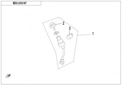 NÁHRADNÉ DIELY CF MOTO X600 - Spínacia skrinka