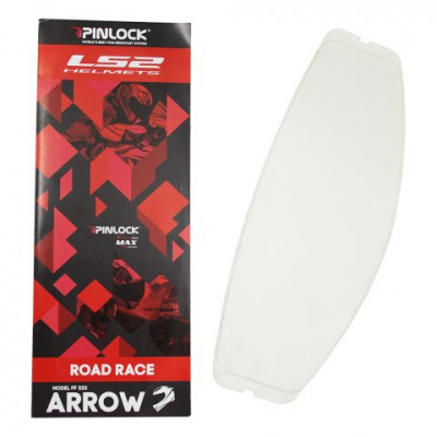LS2 PINLOCK ANTI FOG CLEAR FF323 (ARROW) DKS 147