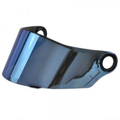 LS2 VISOR FF322 / FF358 / FF385 / FF392 / FF396 IRIDIUM BLUE (CR1, FT2, CT2, CONCEPT, SUPRA)