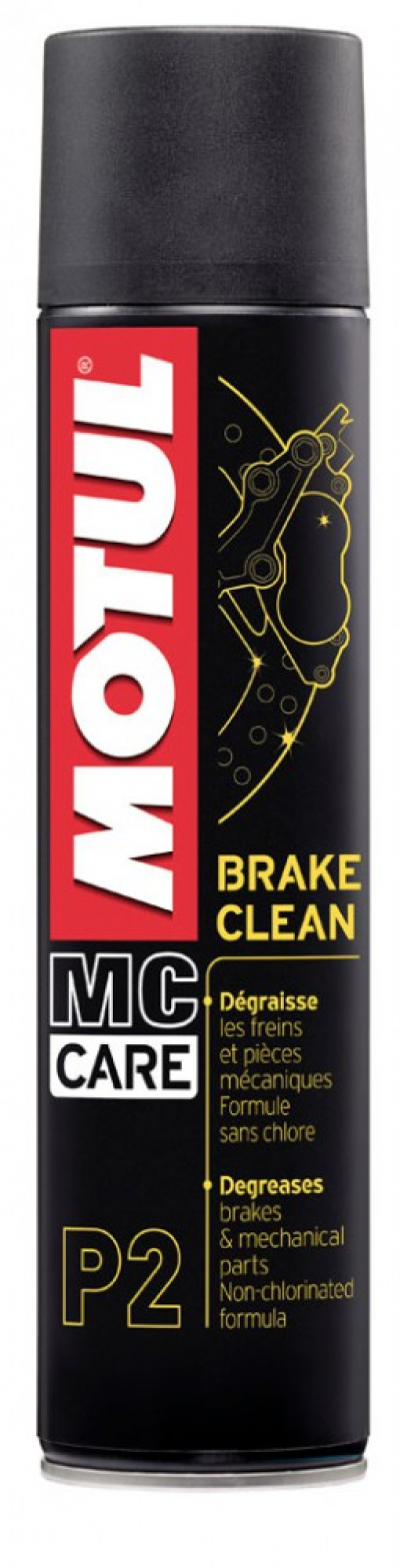 MC CARE ™ P2 BRAKE CLEAN