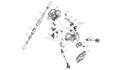 NÁHRADNÉ DIELY CF MOTO Z8 - Elektronika motora