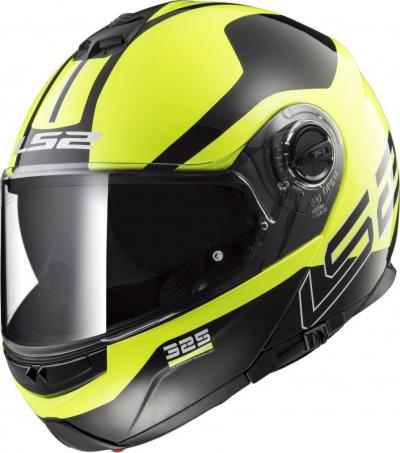 LS2 FF325 STROBE ZONE HI-VIS yellow black